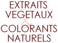 Extraits Végétaux & colorants naturels