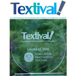 GREEN'ING Lauréat Challenge Innovation Textival 2018 ©GREENING