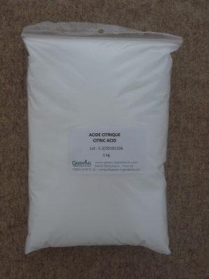 Acide citrique / Citric acid - ©GREEN'ING