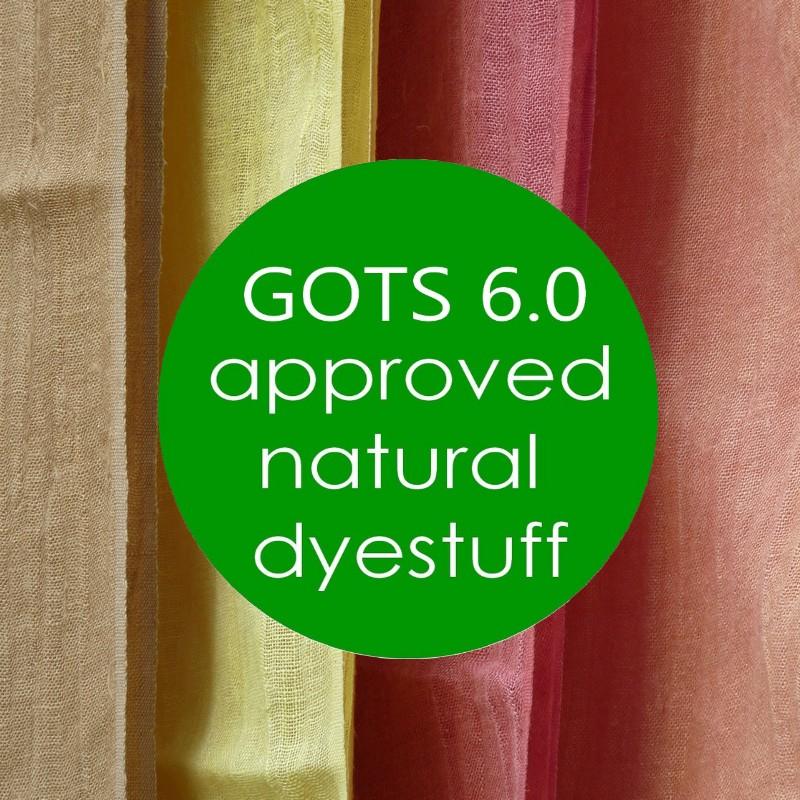 GREEN'ING - GOTS 6.0 Natural Dyes & Mordants ©GREEN'ING